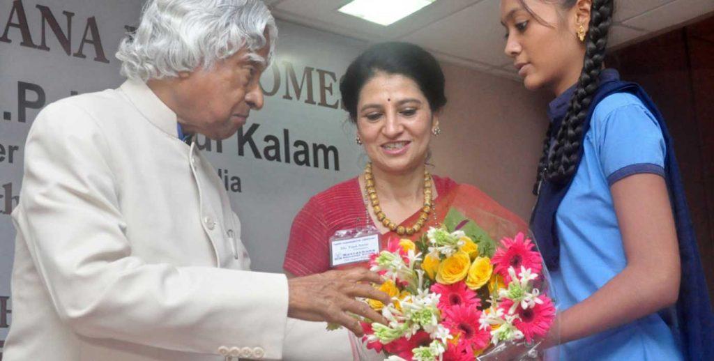 Former President Late Shri APJ Abdul Kalam at Navprerna