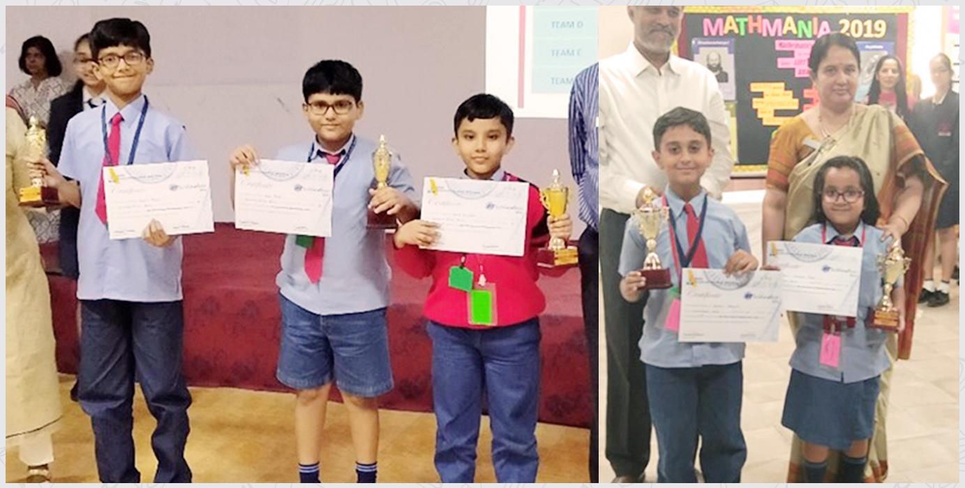 Interschool Mathemania Champions