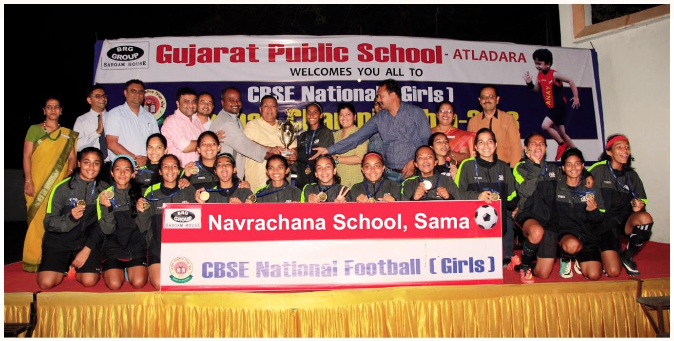 Girls National Football Champions 2018
