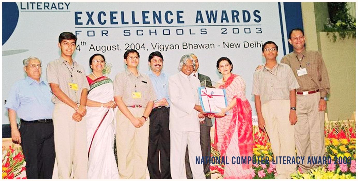 National Computer Literacy Award 2003