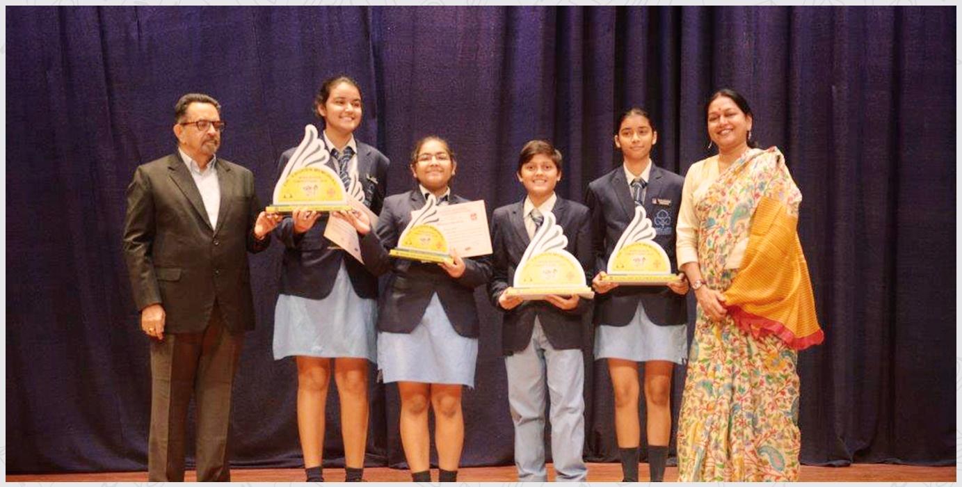 2019-20 Debate Championship in Hindi and English at Anandaya Anand