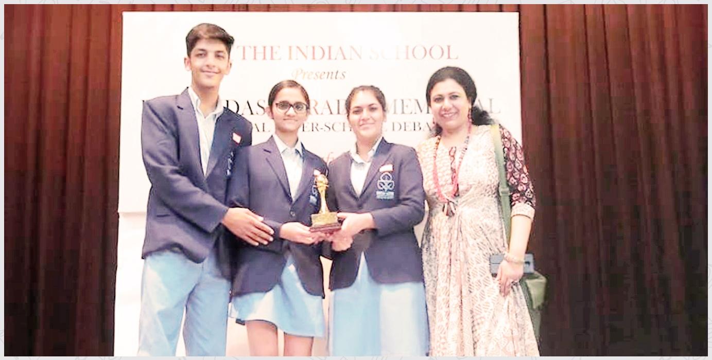 Inter School Debate Winners