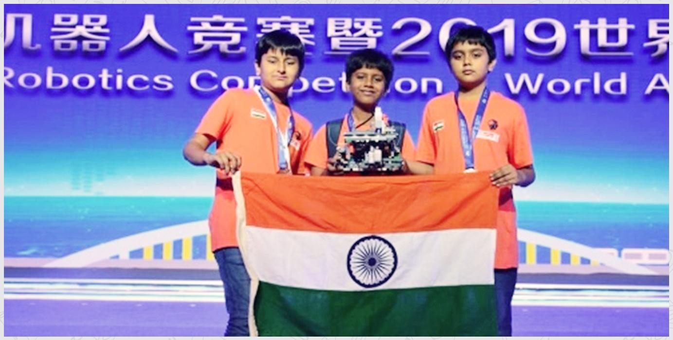2nd Silver Medal World Adolescent Robotics Contest Chongqing