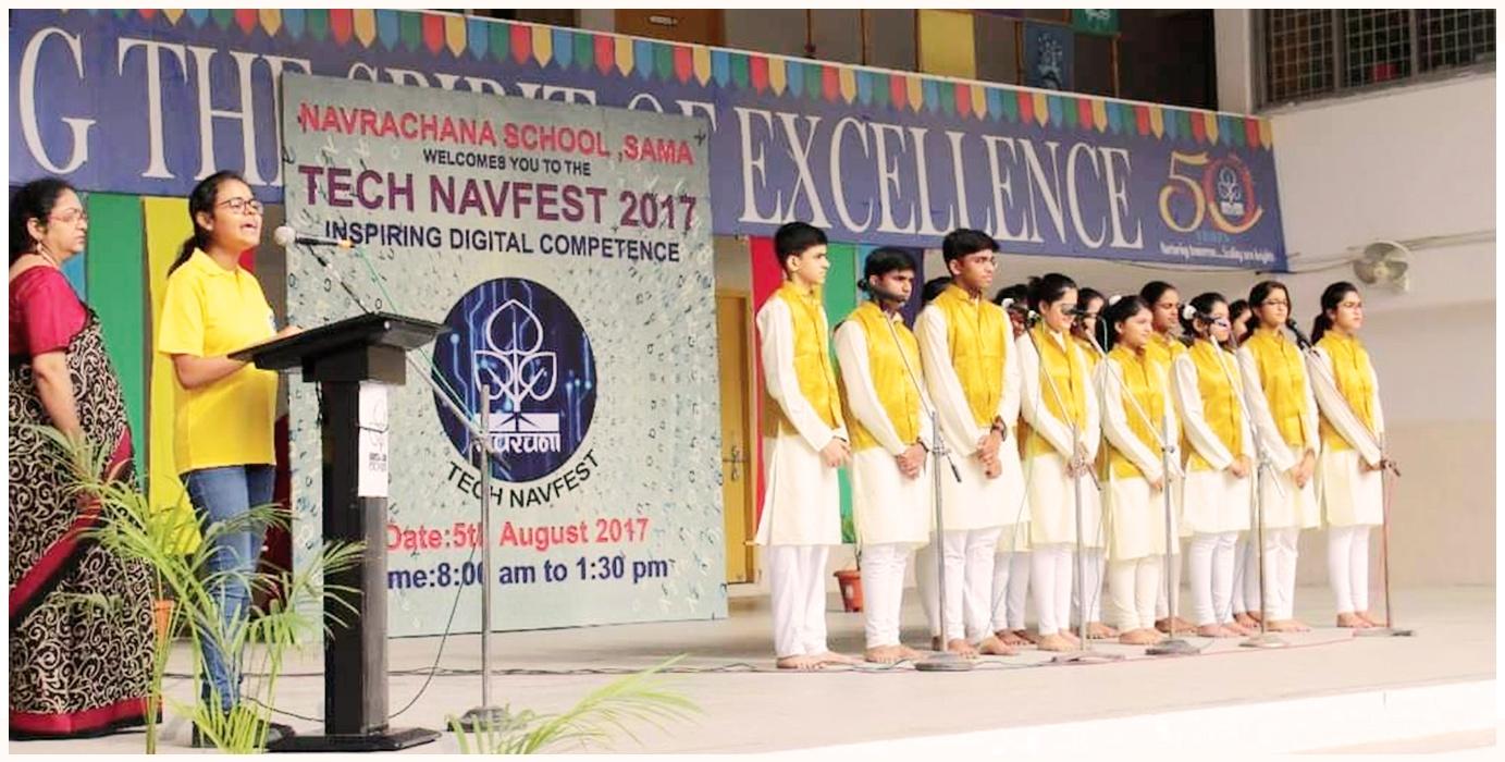 School Choir-Tech Navfest 2017