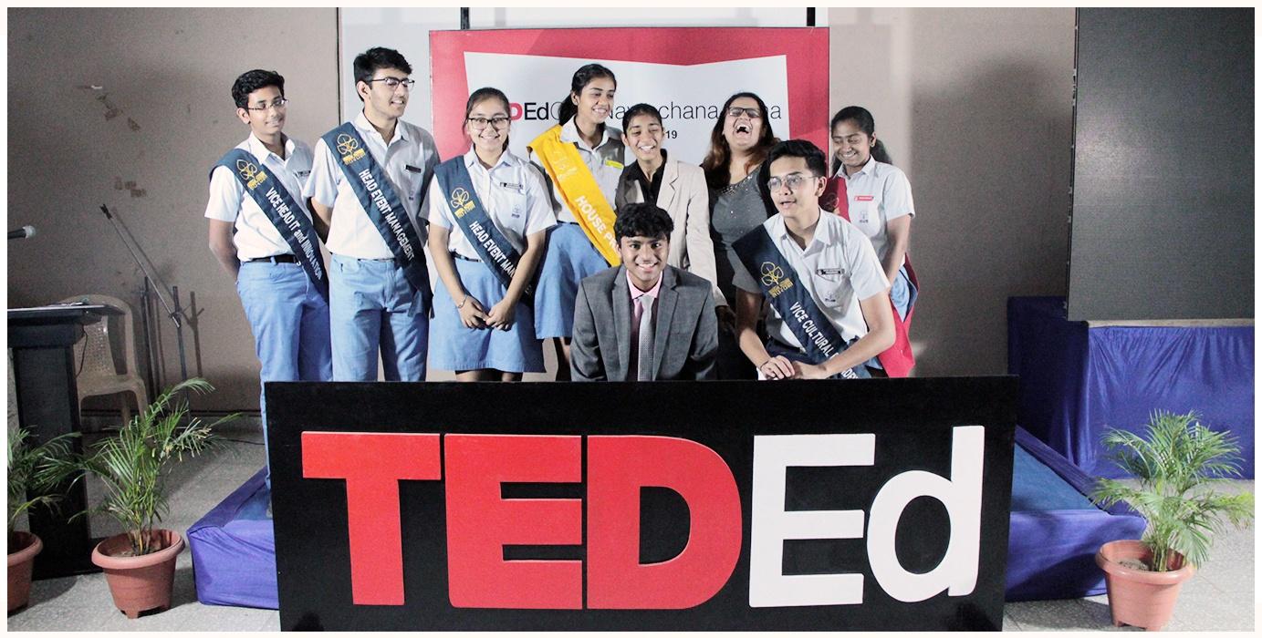Ted Ed Club office bearers 2019