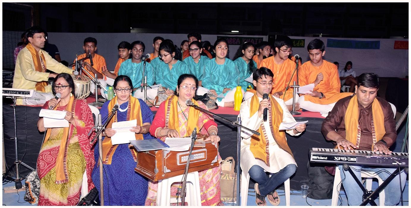 Ram Naam Sankeertanam Rendition During Valedictory 2016 Ceremony