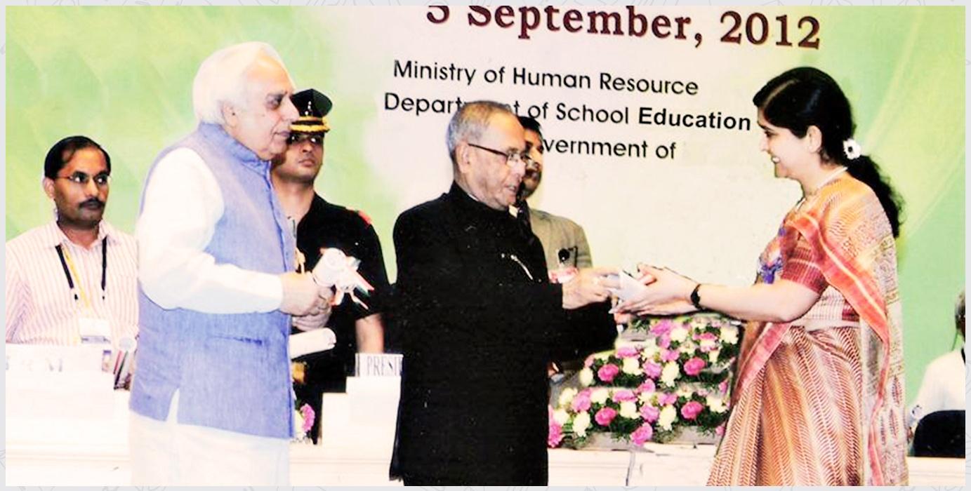 2012-13 Dr. Jamila Firdaus CBSE National Award
