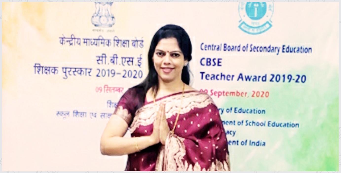 2019-20 Ms. Sapna Iyer CBSE Teachers Award