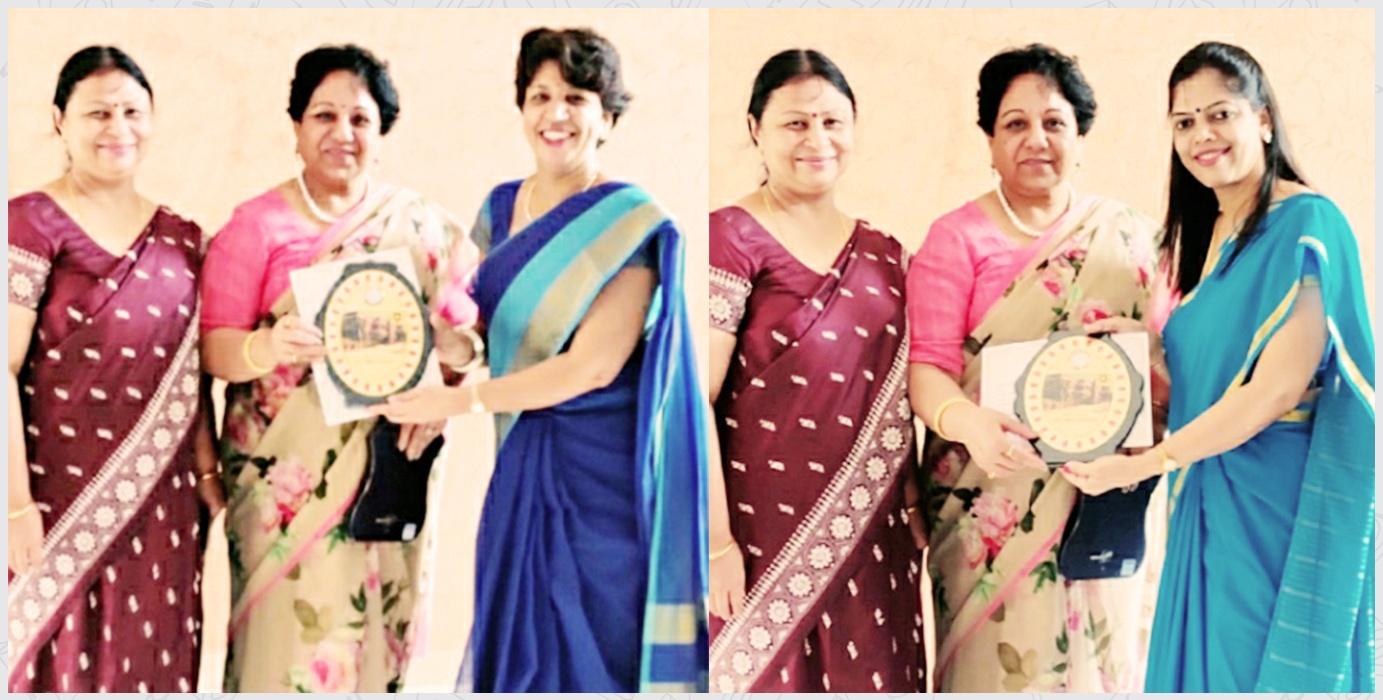 Ms. Sapna Iyer and Ms. Kiran Tiwari, Regional Teaching AID Award, CBSE