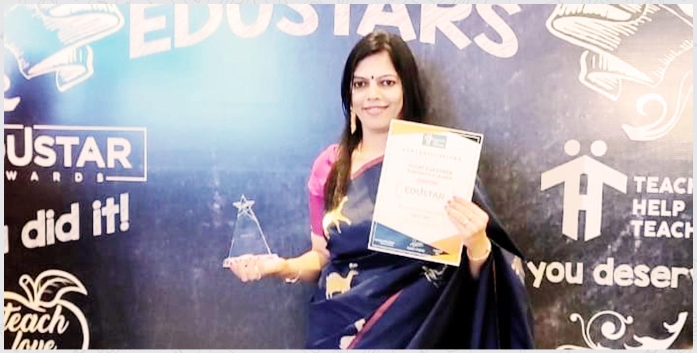 Ms. Sapna Iyer Edustare Award for Excellence in Teaching